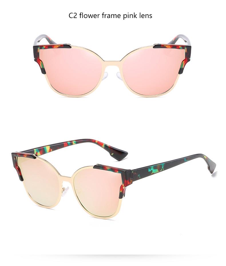 HTB1929MQVXXXXbLaXXXq6xXFXXXn - Women Cat Eye Luxury Fashion Designer Mirror Sunglasses