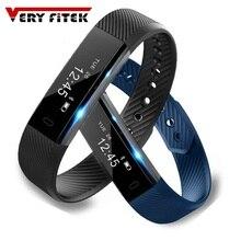 TK47 Akıllı Bileklik Spor Izci Bant Bluetooth Uyku monitör saati Spor Bilezik ios Android için Telefon pk Fitbit Mi 2