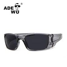 Adewu Nueva Llegada gafas de Sol Para Hombre Marca Diseñador Gafas gafas de Sol Deportivas Para Hombres UV 400 Shades gafas de sol hombre O