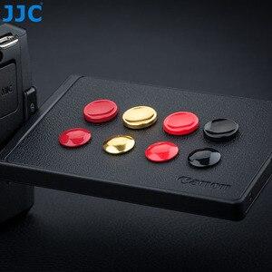 Image 5 - Pegatinas adhesivas de botón disparador para Panasonic DC G100 G110 Sony a7C a7S III ZV1 RX100 II III IV V VI Fuji XT1 XT100 X70