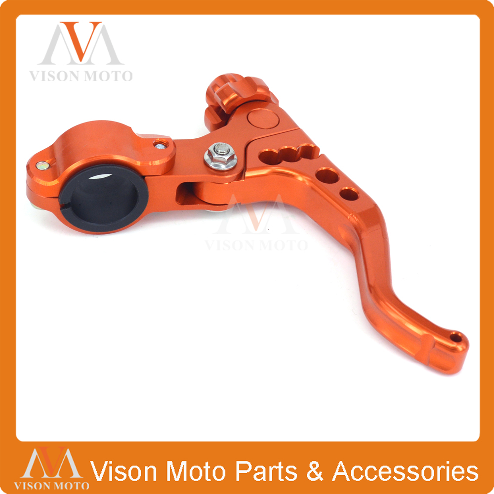 цены  Stunt Short MX Clutch Lever Perch 2 Fingers For KTM EXC EXCF SX SXF SXS XC XCW XCF LC4 SMR EXCW Off Road Motorcycle