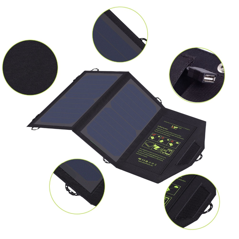 Portable Fold Solar Panels USB Chargers for iPhone 6 6s 7 8 X Xr Xs Xs max iPad Air iPad mini Samsung HTC iPad LG Sony.
