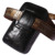 Alta calidad del cuero genuino cocodrilo patrón Real de estilo de hombre cintura del paquete de Fanny celular / caja del teléfono móvil cadera Bum correa del bolso del dinero