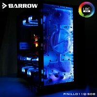 Barrow Acrylic Board as Water Channel use for LIAN LI O11 Dynamic Computer Case for Both CPU and GPU Block RGB 5V 3PIN Waterway