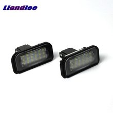 Liandlee For Mercedes Benz B Class W246 2012~2015 / LED Car License Plate Light / Number Frame Lamp / High Quality LED Lights цена 2017