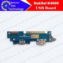 100% Новый первоначально для Oukitel K4000 Мобильный Телефон USB Плата usb plug заряд доска Аксессуары, бесплатная доставка