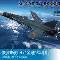 1/72 Russo Su-47 Águia lutador modelo de Montagem de aeronaves