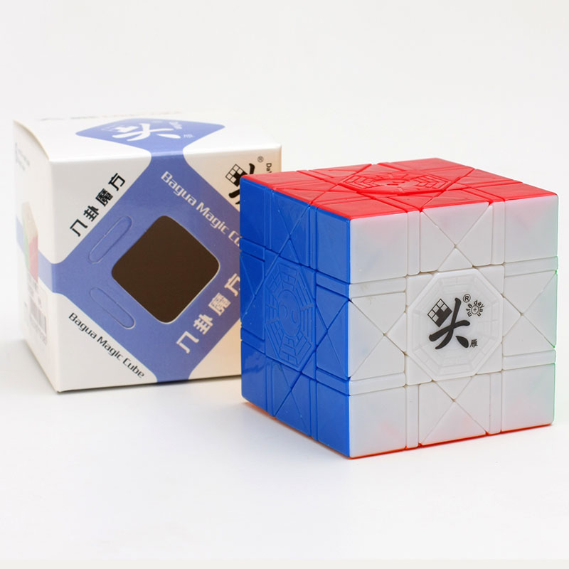 Original DaYan Bagua Magic Cube Collection  Cube 6 Axis 8 Rank Stickerless Speed Puzzle Cubes Educational Gift Toy Games