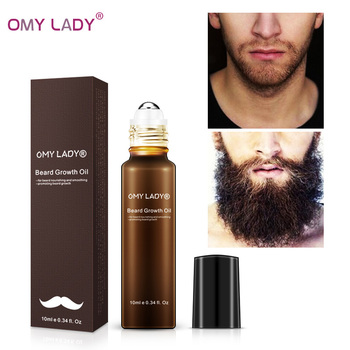 OMY LADY 100% Natural Organic Men Beard Growth Oil Beard Wax balm Hair Loss Product Plant-based for Groomed Beard Growth Essence 1