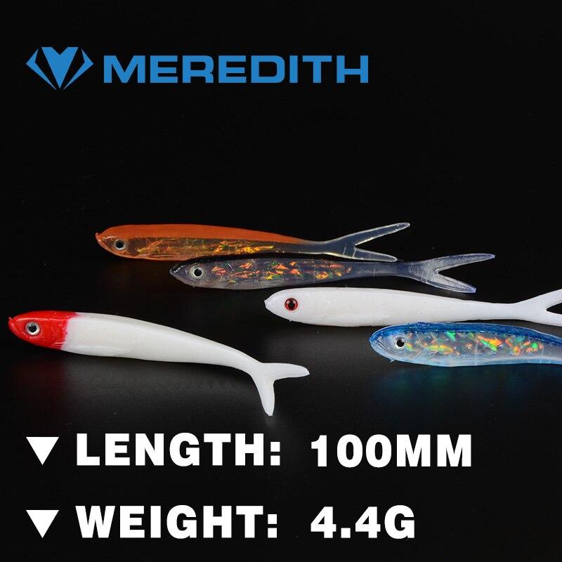 5 Piezas De Señuelos Meredith Excelente Modelos De Venta De 100mm /4.4g Señuelos