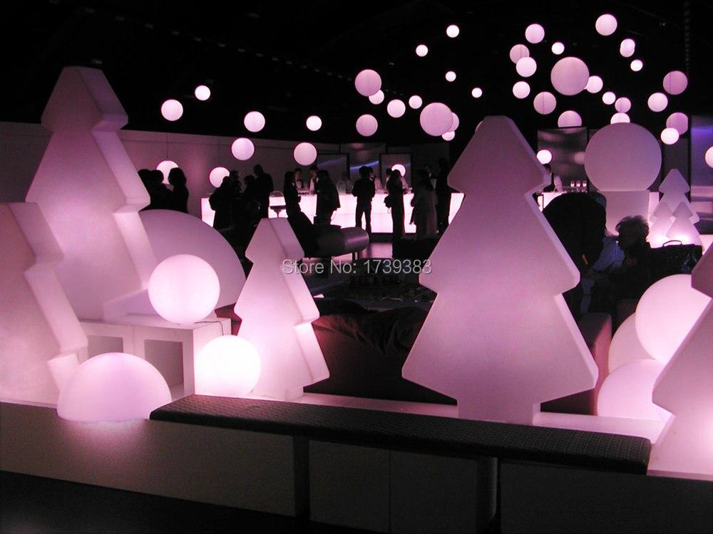 Новый 1 шт. Перезаряжаемые светящиеся светодиодные Рождество lightree лампа горных сосна света для Рождество и украшение выставки