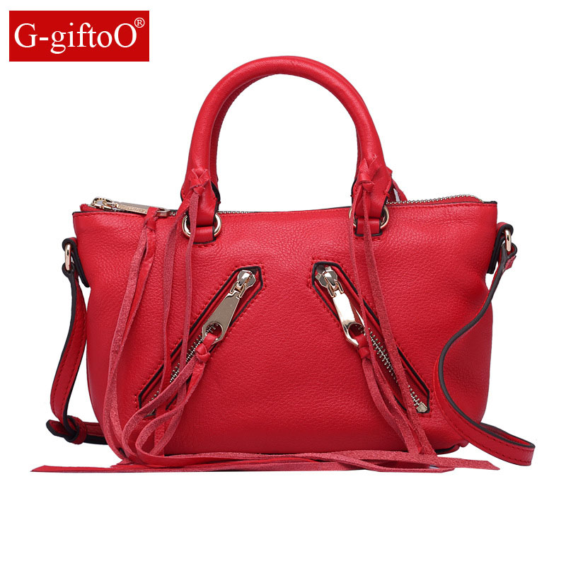 Women Handbag Genuine Leather Tote Bags Tassel Luxury Women Shoulder Bags Ladies Leather Handbags Women Fashion Bags 2018Women Handbag Genuine Leather Tote Bags Tassel Luxury Women Shoulder Bags Ladies Leather Handbags Women Fashion Bags 2018
