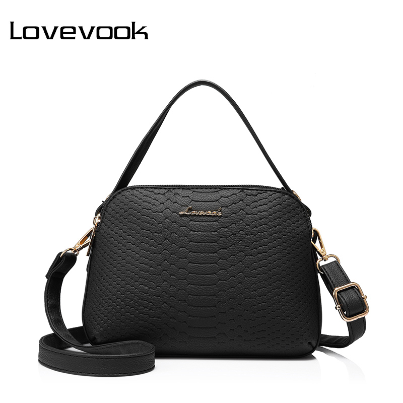 LOVEVOOK brand women shoulder crossbody bag high quality female small messenger bags flap ladies bags with thread retro handbag lovevook shoulder messenger bags for women crossbody bag pu female small handbag and purse with tassel fashion zippers designer