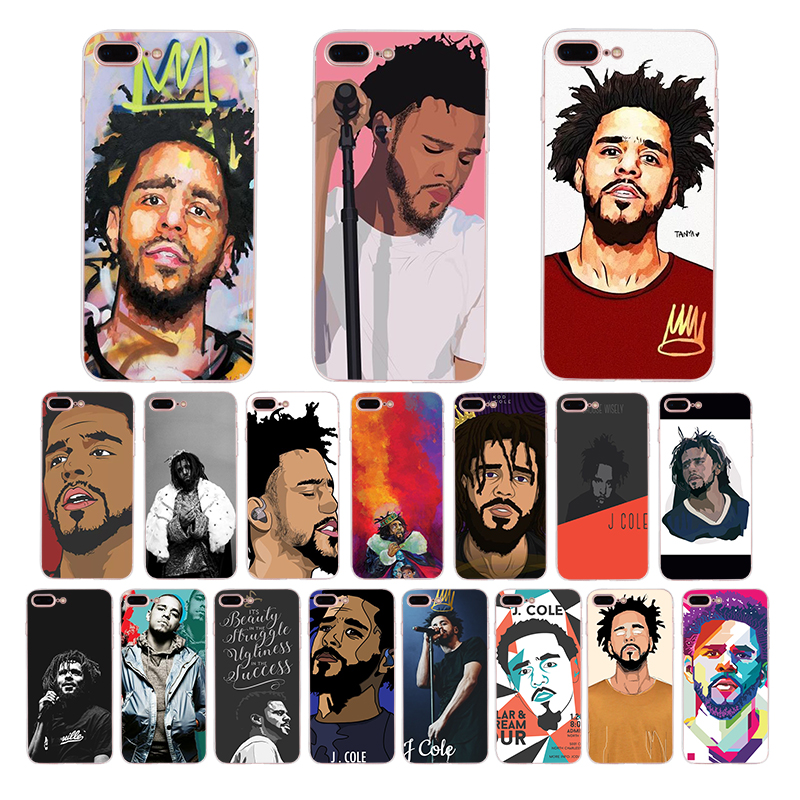 Rap J Cole Born Sinner Soft Silicone Cover Case for Apple iPhone XS Max XR X 6 6S 7 8 Plus 5 5S SE 10 TPU Cell Phone Cases Coque
