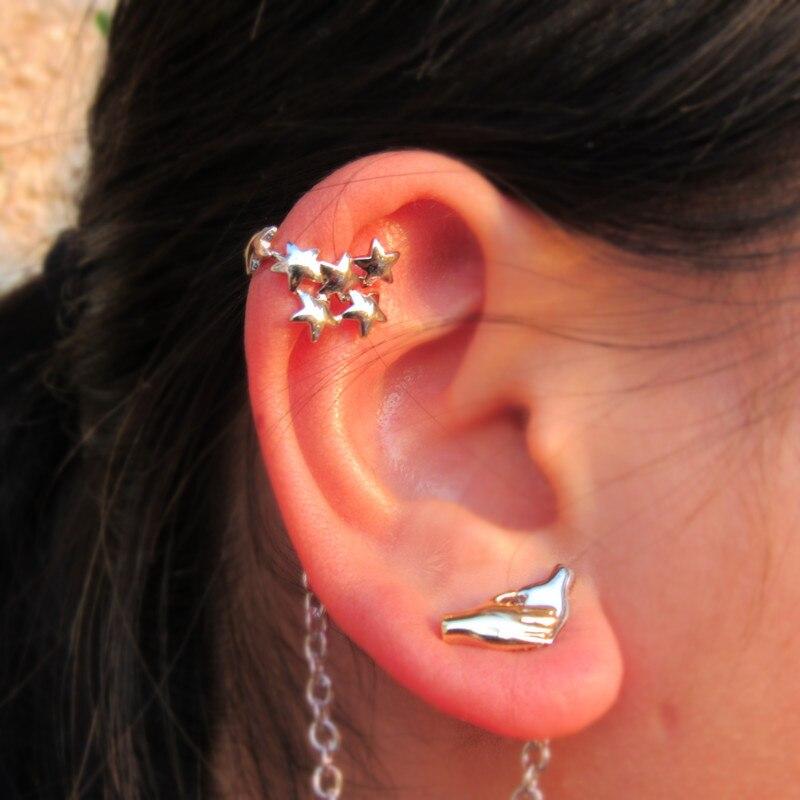 2018 New stars Earrings  The Cosplay Doctors who Earrings pentagrams Earrings  Christmas gift