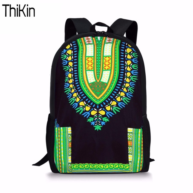 3a72a758b8d8 THIKIN African Tribal Ethnic School Bag for Kids Boys Children Backpack  Girls Book Bags Casual Student