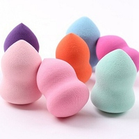 4pcs/lot Makeup Foundation Sponge Blender Blending Cosmetic Puff Powder Smooth Beauty Make Up Tool LH9