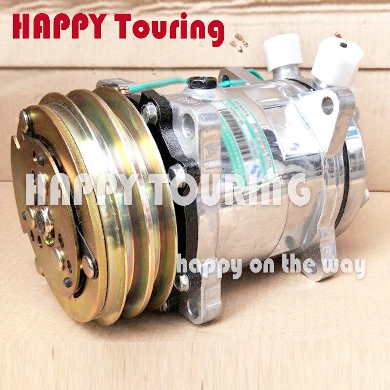 Sanden 508 Compressor Fittings