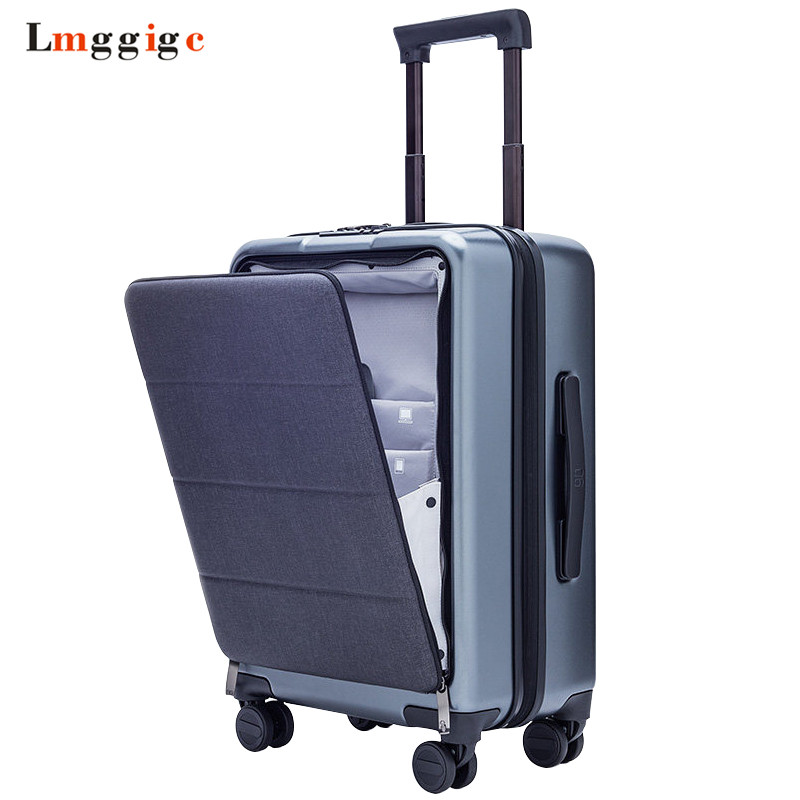 Cabin Rolling Luggage with Laptop bag,PC Travel Suitcase with wheel ,Women Upscale Trolley Case, Men Business box