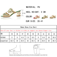 Lucyever Women Fashion High Heels Slipper Sexy Peep Toe Hollow Out Crystals Party Shoes Woman Summer Slip on Beach Flip Flops