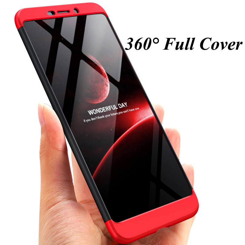 ShockProof Hybrid 360 Full Body Protective Hard Case For Nokia 6 1 2018 For Nokia