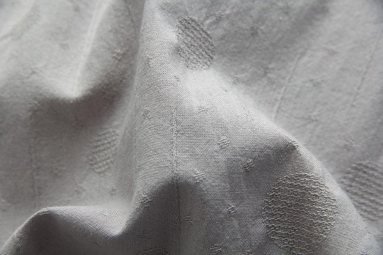 verde Casual Manga Cuello Qpfjqd Lino Camisas Linterna Algodón Cielo Jacquard Grey Trabajo Suelto Top De O Blusa Verano Blusas azul En rosado Vintage Primavera gris Mujeres White zTzpq4