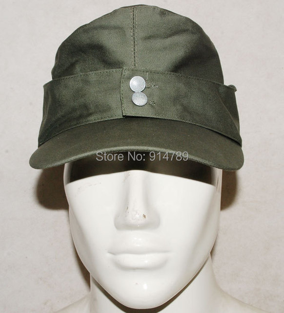 WWII GERMAN ARMY EM SUMMER PANZER M43 FIELD COTTON CAP SIZE XL-32512