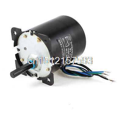 AC 110V 0.19A 30W 32r/min Speed 8mm Shaft Diameter Synchronous Gear Motor 70ktyz ac 220v 110v 0 19a 30w 8mm shaft