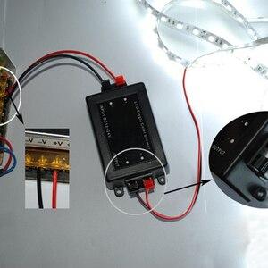 Image 2 - DC 12V 24V bezprzewodowy przełącznik zdalnego sterowania światłem 8A 1 przekaźnik kanału odbiornik przełącznika zdalnego sterowania moduł + nadajnik rf