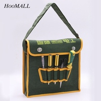 Hoomall New Electrical Tool Kit Thickening Canvas Hardware Tool Bag Multi Purpose Plumbing Maintenance Package For