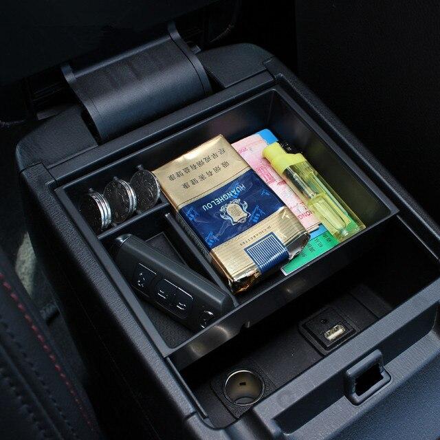 Central del coche caja de almacenamiento apoyabrazos broadhurst remoldeados caja de almacenamiento guantera del coche para Mazda 6 2014 2015 Atenza