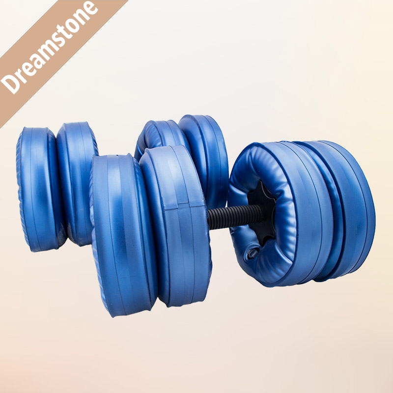 2016 New Plastic Water Dumbbell For Fitness Slimming Yoga Dumbbell Weight Lose Home Fitness Sports Equipment цена