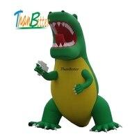 4M grand advertising tyrannosaurus REX inflatable T REX inflatable model inflatable sea dragon mode