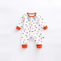 Peninsula Baby New Born Baby Boy Girl Autumn Winter Thick Cotton Longsleeve Romper Soft Comfortable Keep