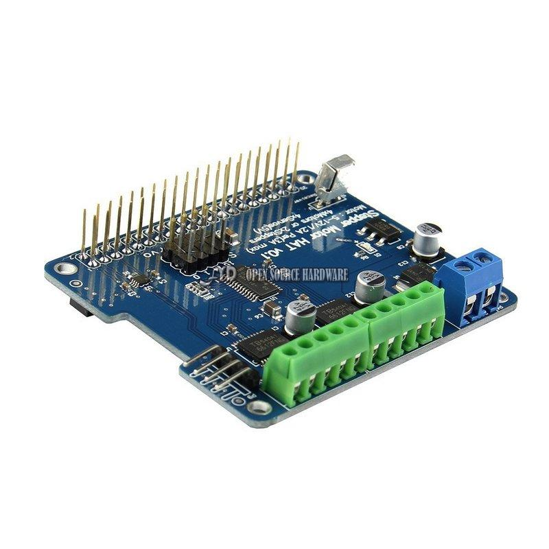 Raspberry Pi Zero / 3B / 2B / B + robot expansion board / stepper motor / motor / servo