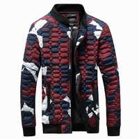 Camouflage Warm Thick Jacket For Men Winter Autumn Male Classic Parka Overcoat Hot Cotton Padded Snow Coat Long Fashion Mens