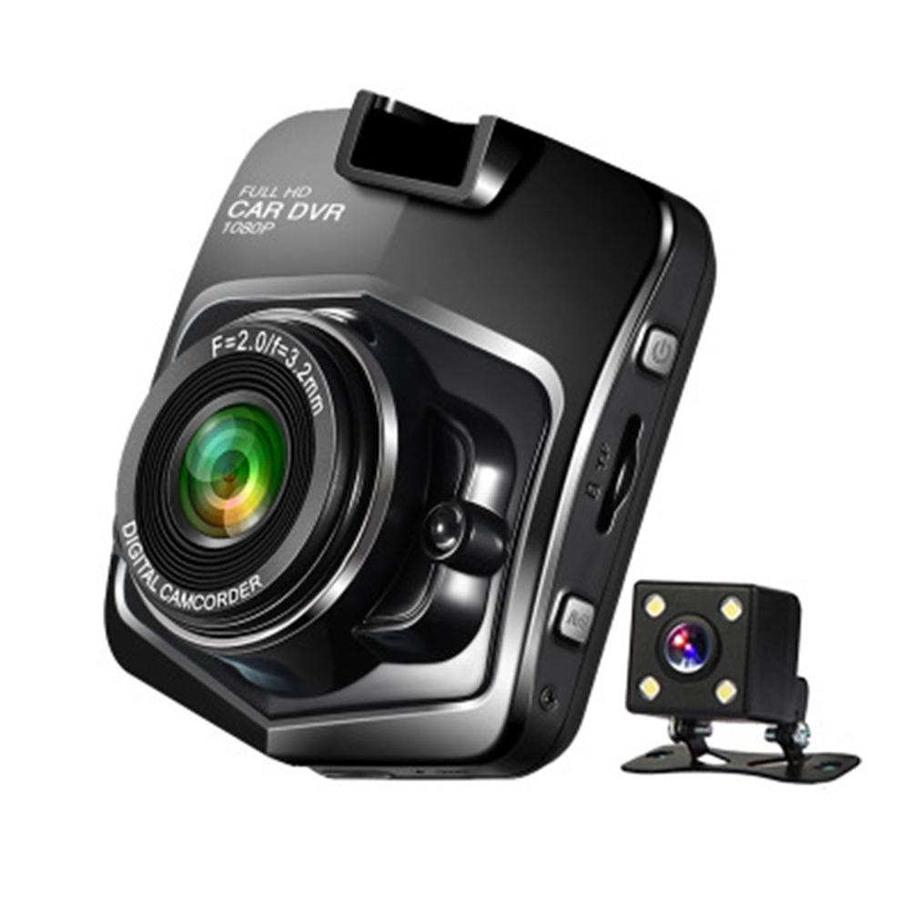 Driving-Recorder Camera Parking-Monitoring Dash-Cam Double-Lens Night-Vision Wide-Angle