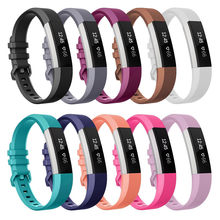 13colors Newest Strap For Fitbit Alta/ Alta HR Bands Soft Strap Replacement Wristband Luxury Bracelet Small and Large Size(China)