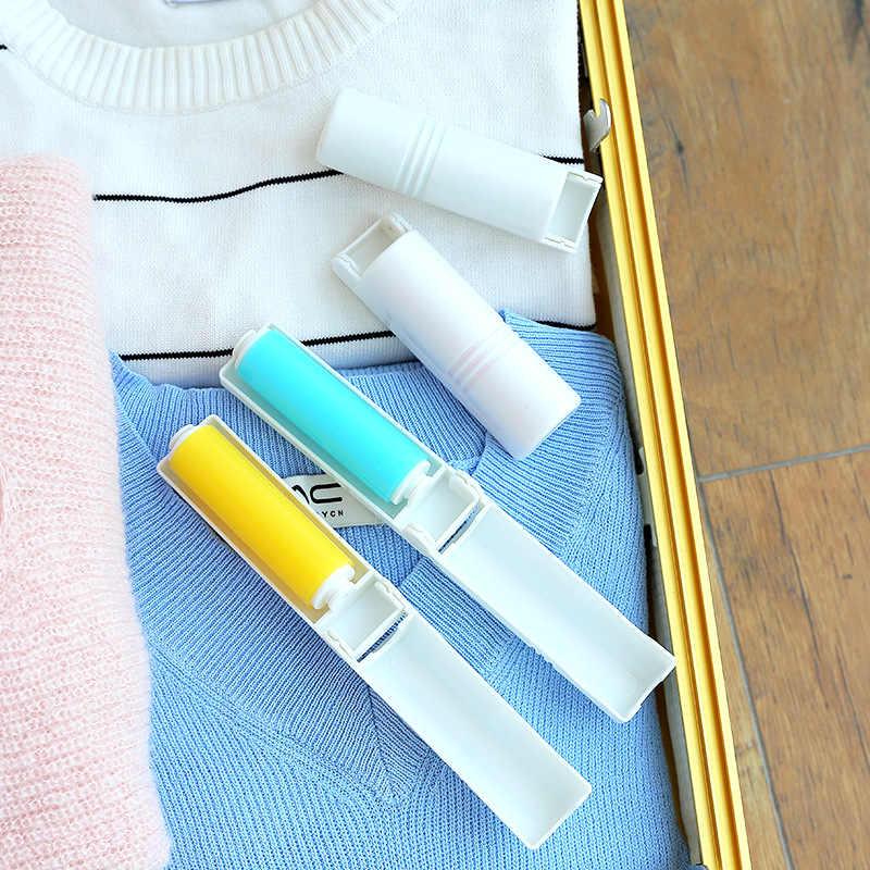 Чистящий свитер липкая кисточка для удаления волос ковер кровать лист щетка для удаления пыли Lint ролики моющаяся щетка для одежды