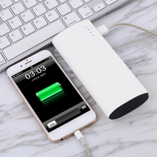 Wopow Power Bank 10000mAh 3 USB Powerbank External Battery Portable Charger For Mobile Phones Tablets Poverbank with LED Light