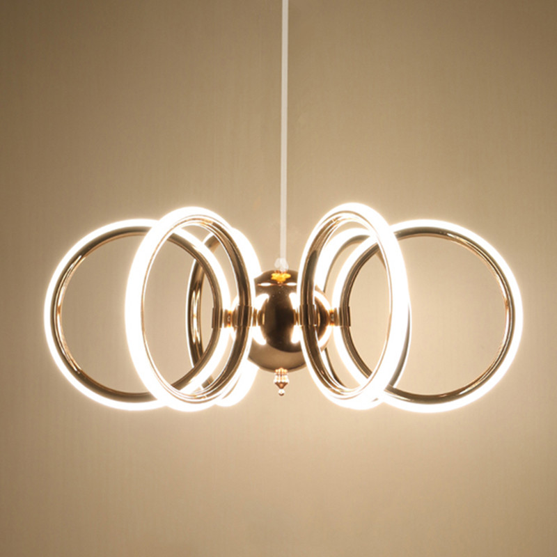Modern LED Chandeliers multiform Acrylic rose golds pendant indoor lightings lamp Livning Dinning shop bar light 110v 220v grohe multiform 32708000 универсальный