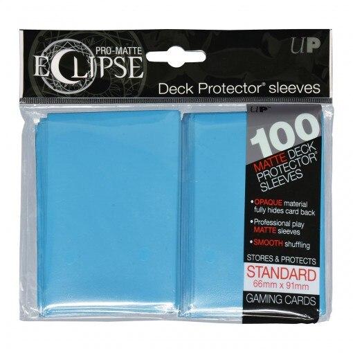 Hüllen für TCG Sammelkarten 100 Ultra Pro Eclipse Standard Sleeves 66x91mm