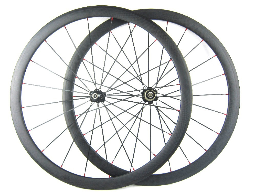 2015 New tubeless compatible wheel 25mm width 700C 38mm profile carbon fiber road wheel 11 speed