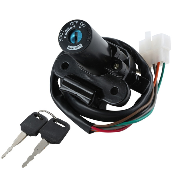 US $22.07 8% OFF|Ignition Switch Lock KEY For KAWASAKI ZX 7 ZX7R ZX750 on