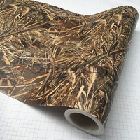 Shadow Grass Blades Tape Graphics Camo Printed Mossy Oak Style Truck Hunter Car Roof Hood Camouflage