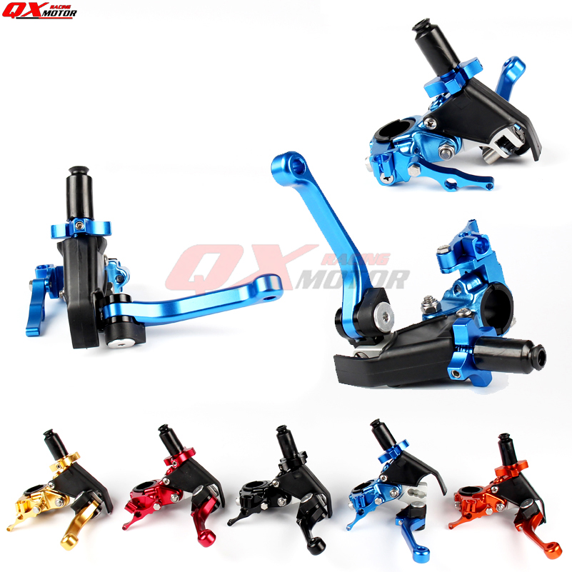 CNC Adjustable Extendable Folding Clutch Lever For YZ YZF WR 125 250 450 MX Motocross OFF