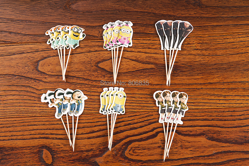 Minions Cupcake Toppers