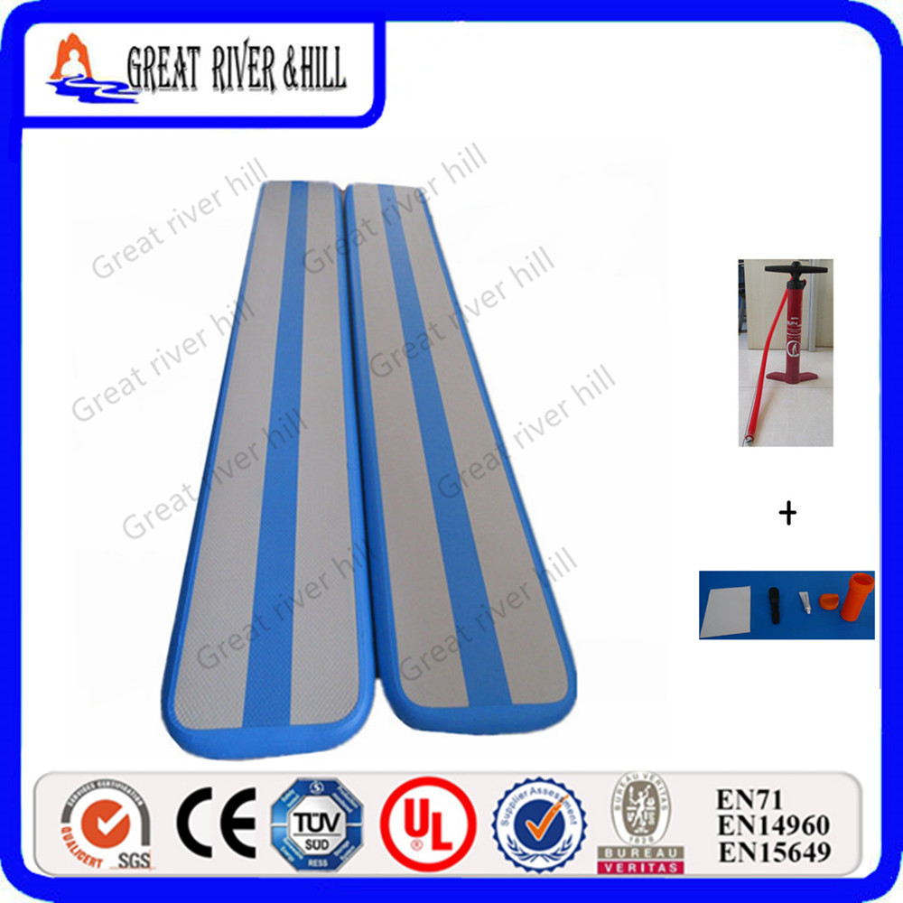 For Training Tumbling air beam gymnastics club practice inflatable air floor 3mx0.4mx0.1m