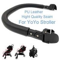 Accesorios para cochecito de bebé parachoques de cuero de clase alta para babyzen YOYO YoYa Yoyaplus Pram Bar barandilla