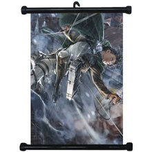 619 Attack on Titan Japan Anime Home Decor Wall Scroll Poster   80x60cm